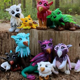 Eyecatching Fantasy Creatures
